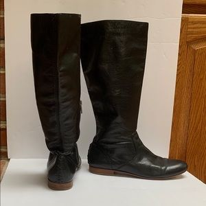 FRYE black  Jillian pull on boots size 8 1/2